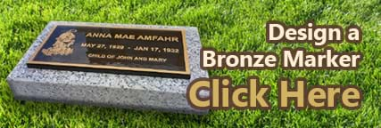 Design a bronze marker.