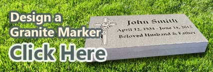 Design a granite marker.